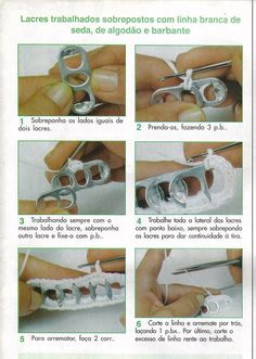 Artesanato diversão e prazer: Bolsas feitas com lacre de lata