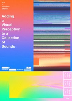 sooandsyn:  syn~aesthesis project, adding a visual perception to a collection of sounds, Zero