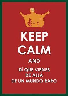 Keep Calm canta,llora y grita como CHavela vargas!