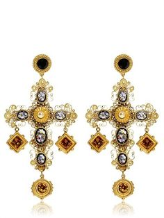 Victorian Age Earrings (For Dolce  Gabbana lovers)