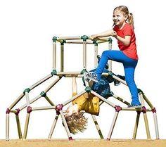 Playground Jungle Gym Monkey Bar Frame Dome Climber Set  #LilMonkey