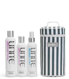 unite lazer straight shampoo conditioner gratis 7 seconds leave in etui #Unite #haarproducten #haarverzorging