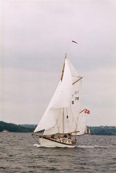 ANITA. Skibet er en åledrivkvase og udstyret med to master. Der kan sættes små 100 m2 sejl. Skibet har 190 cm sænkekøl og stikker 90 cm på hælen. Derfor har den fantastiske sejlegenskaber. Bygget på Årøsund Bådebyggeri i 1978, efter gamle tegninger fra 1907. Skibet har en SAAB dieselmotor.