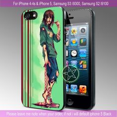 Living Dead Girl iPhone 4/4S/5, Samsung S4/S3/S2 cover cases   sedoyoseneng - Accessories on ArtFire