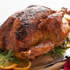 Make a spice blend with rubbed sage, onion powder, paprika and nutmeg garlic powder to coat the outside of the turkey. Then brush on a delicious apricot glaze to add another layer of flavor to the centerpiece of the holiday dinner. Photo credit: Lindsay Landis from Love & Olive Oil.