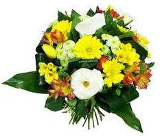 """Résultat de recherche d'images pour """"bouquet de fleur jaune"""""""