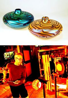 053. Peter Vizzusi will be showing his latest glass creations at the Santa Monica Civic Auditorium, June 7-9.