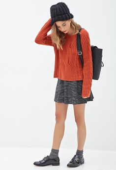 Classic Cable Knit Sweater | FOREVER21 - 2000101064