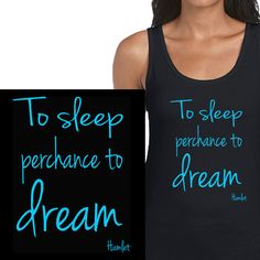 Shakespeare bedtime tank from Clevaclogs