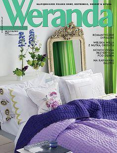 Okładka magazynu Weranda 2/2012 www.weranda.pl