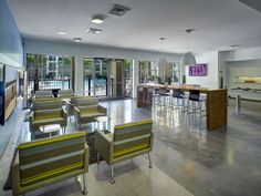 Clubroom at the University Central Florida.     #apartment #complex #students #Mac #UCF #centralflorida #University #college