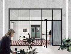 12 modos de representar atmosferas arquitetônicas através de colagens,Projeto: Grenhousing PTII. Cortesia de Something Fantastic