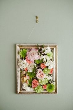 Craft Ideas Using Fake Flowers - Flowers are the way to decorate any space, on the downside they do not necessarily last as long as you may want them! Have a peek at these craft ideas using! Tree Wall Art, Diy Wall Art, Diy Wall Decor, Art Decor, Flower Wall Decor, Cheap Wall Art, Bathroom Wall Art, Decor Ideas, Bathroom Colors