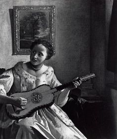 The Guitar Player erroneously attributed to Johannes Vermeer