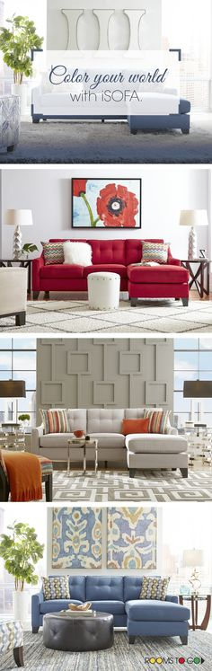 Contemporary and stylish, the Madison Place sectional will transform your living room. Whether you want modern, contemporary or eclectic, iSofa has the design for you. Shop your style now!