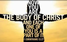 Section 3 - This picture shows that every person is unique and they make up the Body of Christ. We do not all have to be uniform in order to be in unity.