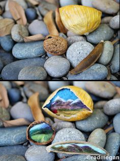 Small Crafts: Nestled Needle-Felted Landscapes - Radmegan