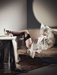 Catherine McNeil | Roe Ethridge | AnOther Spring/Summer 2012  - 3 Sensual Fashion Editorials | Art Exhibits