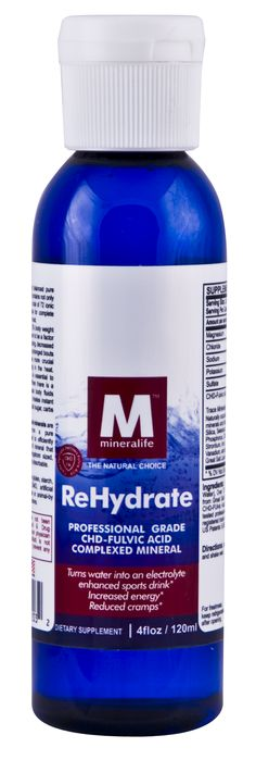 Rehydrate with essential electrolytes that could be lost due to your work outs, running routine, or extreme heat.  Just add drops to your bottled water!