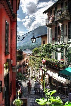 Downstairs, Bellagio, Lake Como, Italy