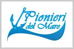 Logo per Pionieri del Mare, scuola vela e crociere vela.