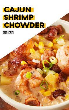 Cajun Shrimp Recipes, Seafood Recipes, Dinner Recipes, Cooking Recipes, Healthy Recipes, Fall Soup Recipes, Cajun Food, Donut Recipes, Healthy Soup