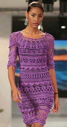 .Beautiful purple dress. For inspiration only