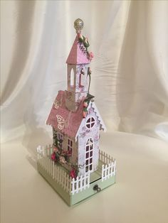 Doll Houses, Bird Houses, House 2, Gingerbread, Building A House, Buildings, Paper Crafts, 3d, Holiday Decor
