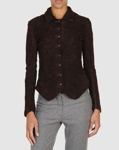 Christian peau Women - Leatherwear - Leather outerwear Christian peau on YOOX