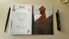 Harry Potter Planner 2016 size A5 by PlannerAddicted on Etsy