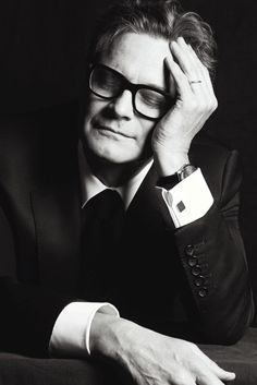 Colin Firth, photographed by Matias Indjic during the 68th annual Cannes Film Festival for Madame Figaro, June 2015.