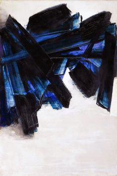 MY MAGICAL ATTIC: FRENCH PAINTER PIERRE SOULAGES