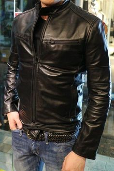 We Present an Extensive Collection of Men, Women, Celebrity, Motorcycle & Custom Leather Jackets. Great Quality, Best Value! Visit for Buy Now Lambskin Leather Jacket, Vintage Leather Jacket, Leather Men, Leather Jackets, Custom Leather, Blue Denim Jacket Mens, Leather Fashion, Mens Fashion, Street Fashion