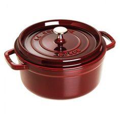 Staub Round Cast Iron Cocotte | Eco-Friendly Cookware