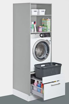 Utility room ideas from Schuller, solutions for everything – even in a small space. Fitted furniture for your laundry, cleaning, storage and recycling. – The post Utility room ideas from Schuller, solutions for ev… appeared first on Best Pins for Yours.