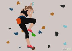 How to Improve at Indoor Rock Climbing: 12 Steps (with Pictures)