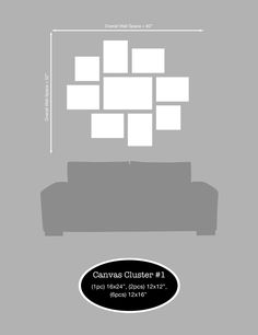 A Canvas Cluster is a series of photos printed on canvas grouped together to make a montage of images. If you are a photographer or home owner, you'd want to display these in your studio or home. T...