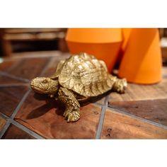 Deco Figurine Turtle Gold Small - KARE Design Toronto #turtle #decor #homedecor #accessories Clean My Space, Home Reno, New Furniture, Decorative Objects, Karate, Tortoise, Toronto, Turtle, Design