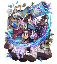 梅露可图鉴 [灿烂苍晶炮] 切勒西 Game Character Design, Character Design References, Character Design Inspiration, Character Concept, Character Art, Character Illustration, Illustration Art, Manga, Art Anime