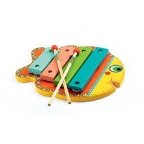 Djeco - Wooden Musical Instrument Animambo Xylophone #EntropyWishList #PinToWin Can't go past a fishy tune :)