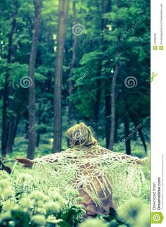 Mystical Girl In Dark Woods - Download From Over 46 Million High Quality Stock…