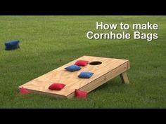 How to Make Cornhole Bags   Do-It-Yourself Advice Blog.