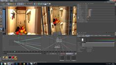 Tutorial : ADVANCED : Cinema 4D Camera Mapping and Camera Projection Part 2