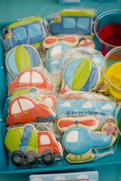 Transportation themed birthday party via Kara's Party Ideas | KarasPartyIdeas.com (29)