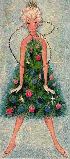 Christmas Card <3 1960's