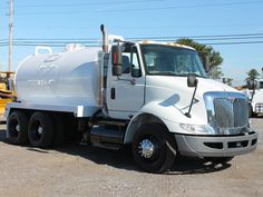 Used 2010 INTERNATIONAL 8600 Septic Tank Truck for sale in FL  #2688. More INTERNATIONAL Septic Tank Trucks for sale Dump Trucks For Sale, Septic Tank, Vehicles, Water, Water Water, Rolling Stock, Vehicle, Aqua