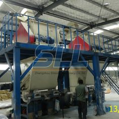 5t Semi-automatic dry mortar plant