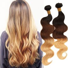 100g/Bundles 100% Real Human Hair Extension Body Wave Brazilian Hair Weaves New