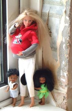They have baby mama barbie now??