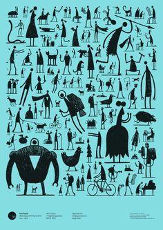 silhouettes / Tom Gauld